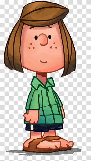 Peppermint Paty dari Peanuts, Peppermint Patty Snoopy, Charlie Brown, Linus van Pelt, pepermint png