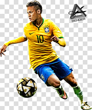 pemain sepak bola di samping bola sepak, neymar paris saint-germain f.c. fc barcelona tim sepak bola nasional brazil, neymar junior brazil png