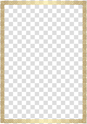 Rectangle Gold, Golden Deco Border, ilustrasi bingkai berwarna emas png