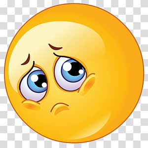 Smiley Emoticon Sadness Animation, Sad Emoji Background, ilustrasi emoji png