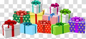 berbagai macam ilustrasi kotak hadiah, Kotak pembungkus kado Mainan, Kotak Hadiah png