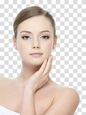 Model Olay, perawatan kulit Facial Cosmetics Light-emitting diode, model kosmetik cantik Eropa dan Amerika Serikat PNG clipart